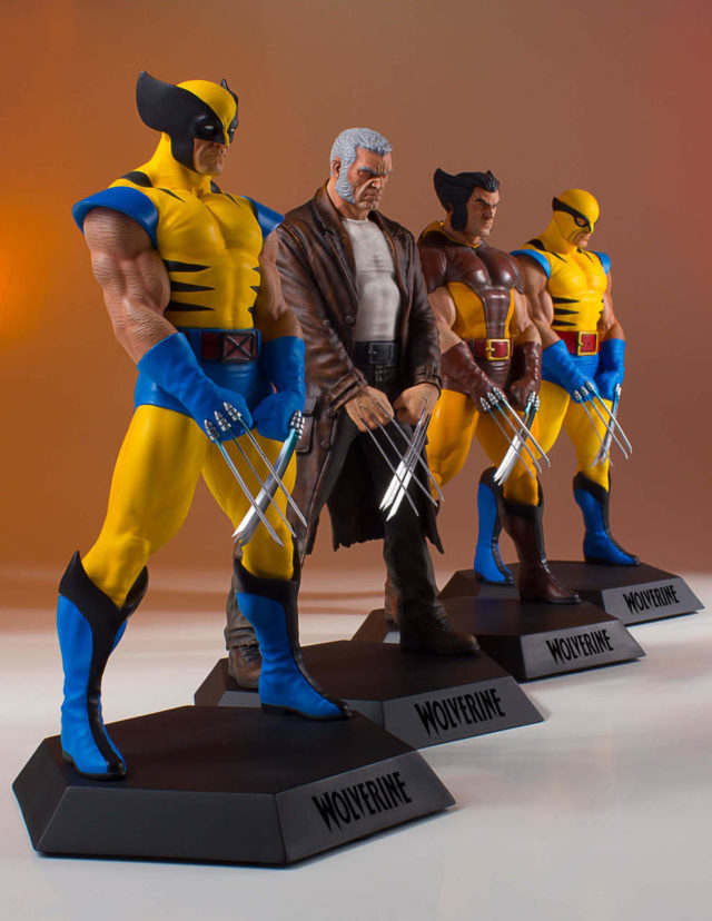 Marvel Collectors Gallery Wolverine 1992 Statue in Series
