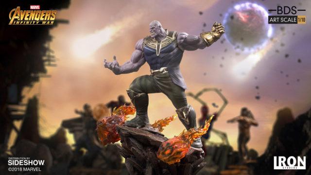 Marvel Iron Studios Thanos Infinity War BDS Statue