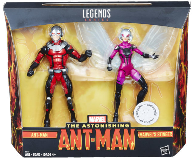 Marvel Legends Ant-Man and Stinger Two-Pack