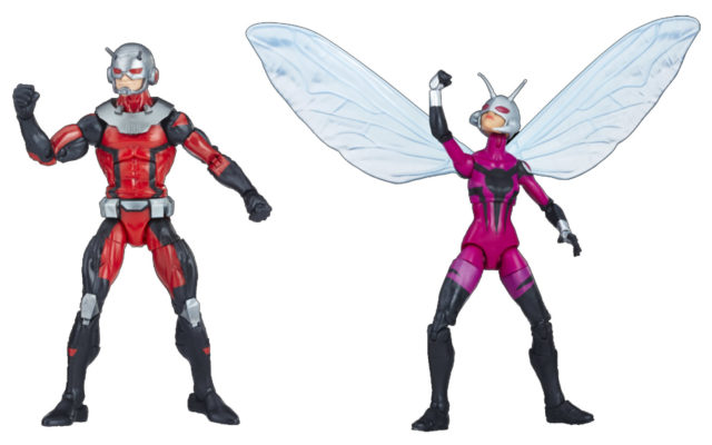 Marvel Legends Exclusive Ant-Man and Stinger Figures