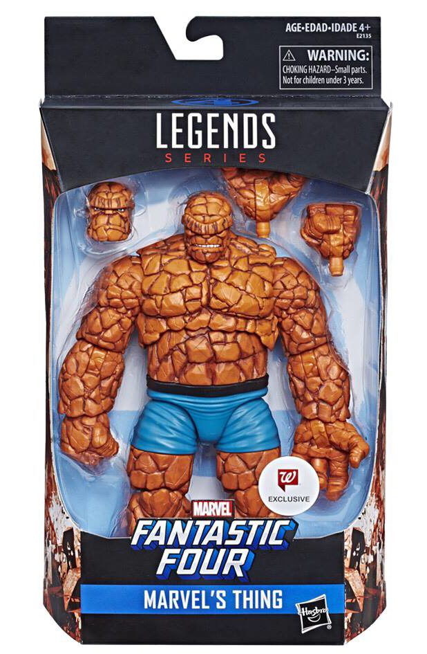 Marvel Legends Thing Packaged Photo Walgreens Exclusive