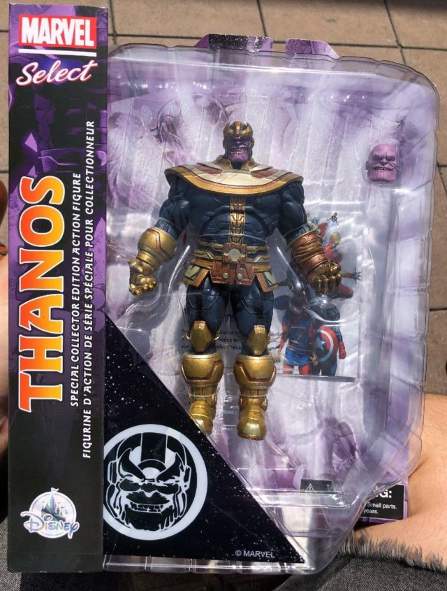Marvel Select Modern Thanos Exclusive Action Figure Box