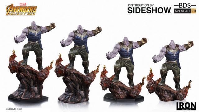 Thanos Iron Studios Infinity War Statue Terrain Base