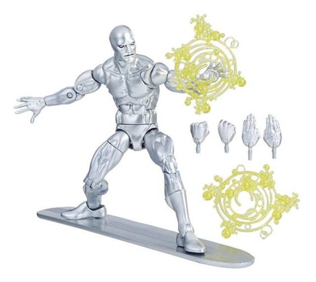 Walgreens Exclusive Silver Surfer Marvel Legends Figure