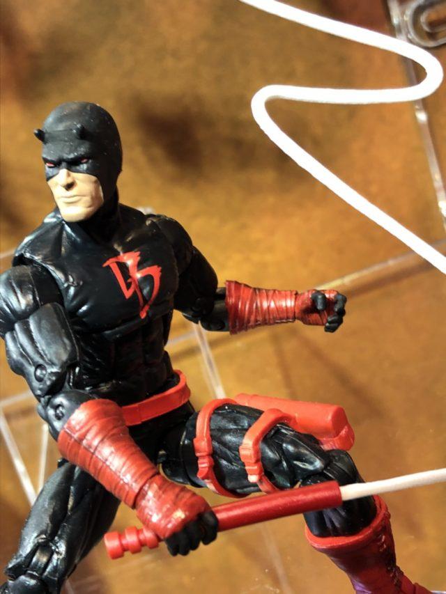 "Marvel Legends 2018 Daredevil Black Costume 6"" Figure"