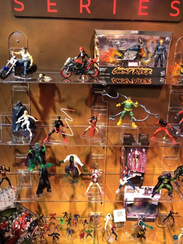 Marvel Legends Spider-Man Display at New York Toy Fair 2018