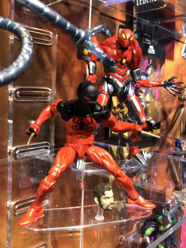 2018 Toy Fair Hasbro Scarlet Spider Marvel Legends Figure