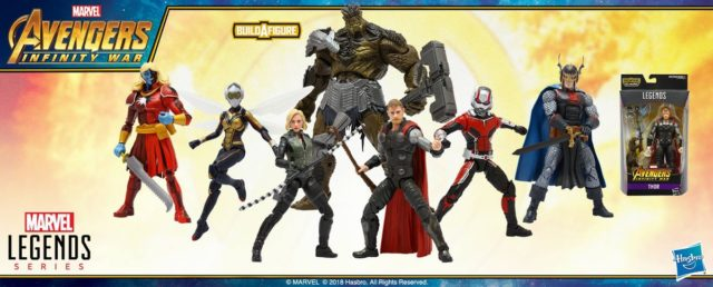 Marvel Legends Infinity War Wave 2 Series Lineup