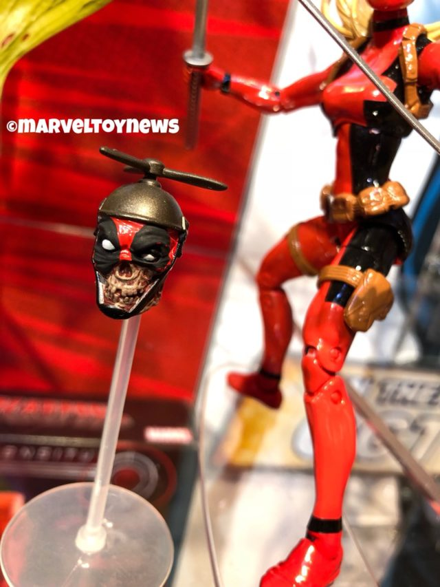 "Marvel Legends Headpool with 6"" Lady Deadpool Figure"
