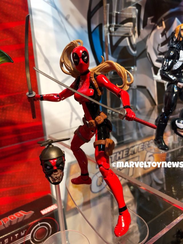 Marvel Legends Lady Deadpool & Headpool Figures Toy Fair