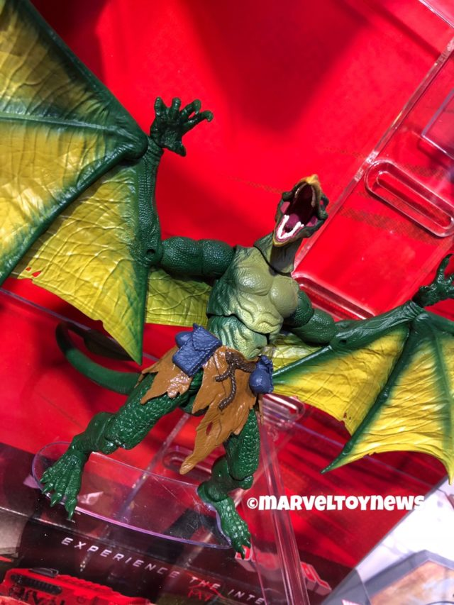 Marvel Legends Sauron Build-A-Figure Toy Fair