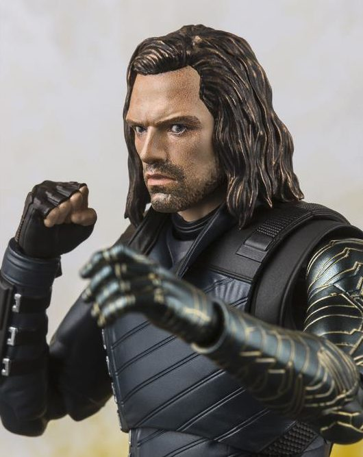 Avengers Infinity War Bucky Figuarts Figure Close-Up of Head