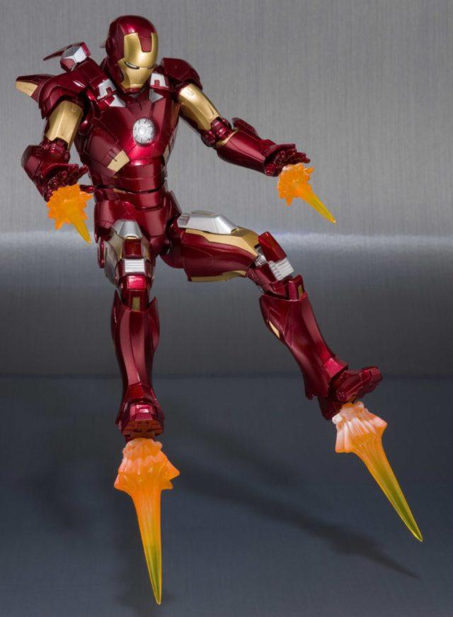 Bluefin Iron Man Mark VII Action Figure Avengers
