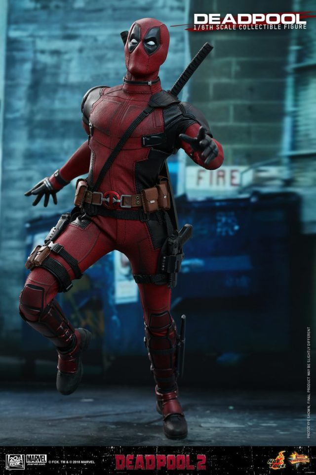 Hot Toys Deadpool 2 Action Figure 12 Inch
