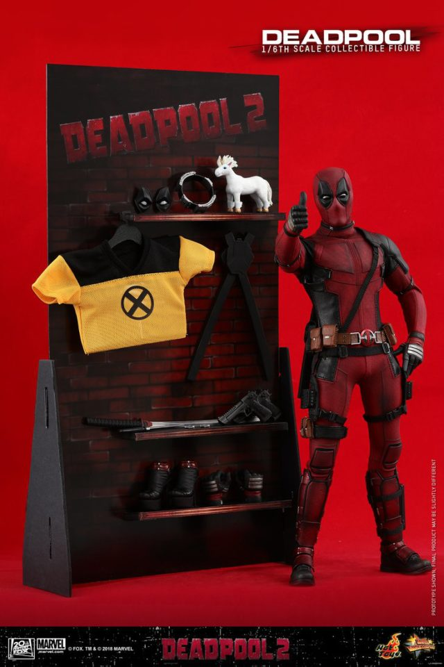 Hot Toys Deadpool 2 Diorama Backdrop for Accessories