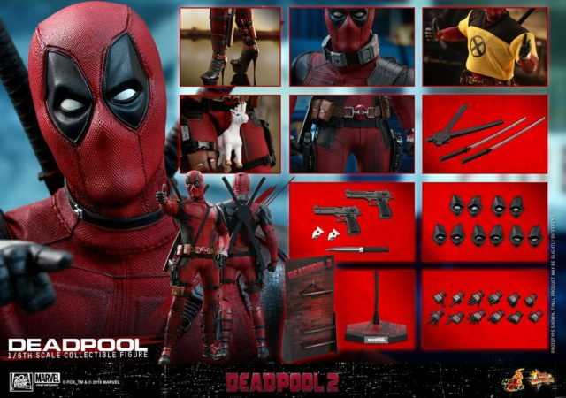 Hot Toys Deadpool 2 Figure and Accessories
