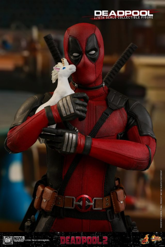 Hot Toys Deadpool 2 Sixth Scale Figure Hugging Unicorn Doll