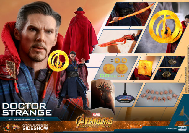 Infinity War Hot Toys Doctor Strange Figure Up For Order
