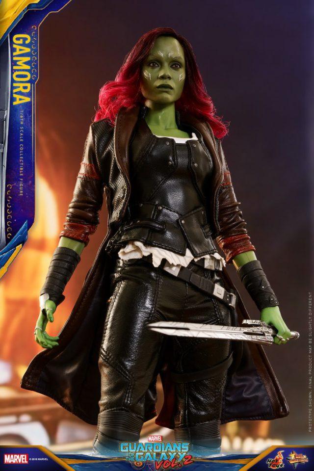 Hot Toys Gamora Infinity War GOTG2 Figure 12 Inch
