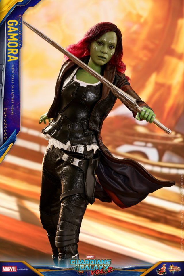 Hot Toys Infinity War Gamora Figure with Sword