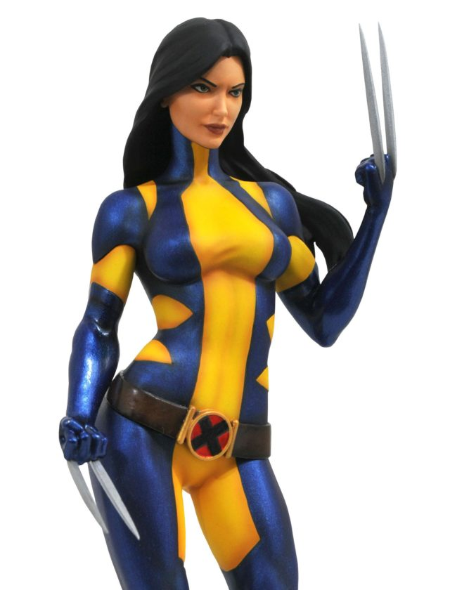 Marvel Gallery Laura Kinney Unmasked X-23 Statue Close-Up
