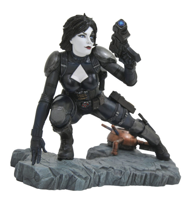 Marvel Premier Collection Domino Resin Statue