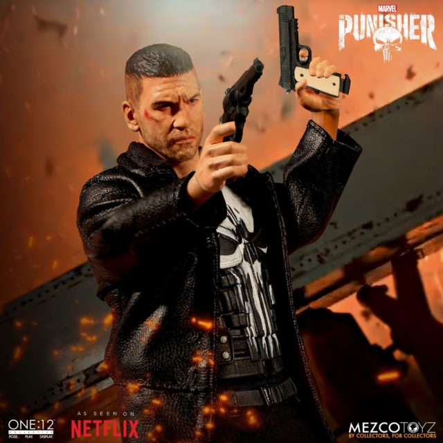 Mezco Netflix Punisher ONE 12 Collective Figure