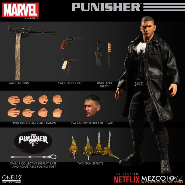 Netflix Punisher ONE 12 Collective Figure and Accessories