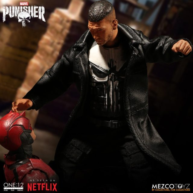 ONE 12 Collective Netflix Punisher Punching Out Daredevil