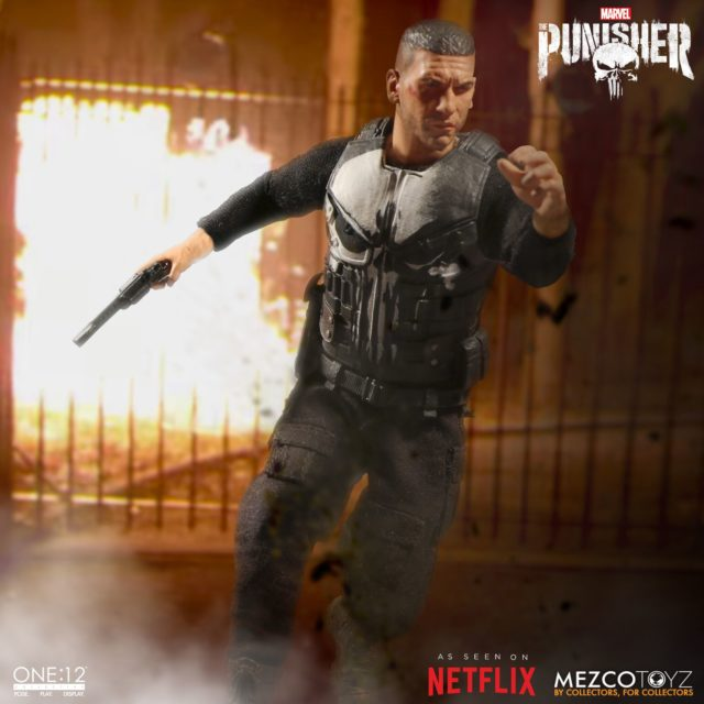 ONE 12 Collective Punisher Netflix Figure without Trench Coat