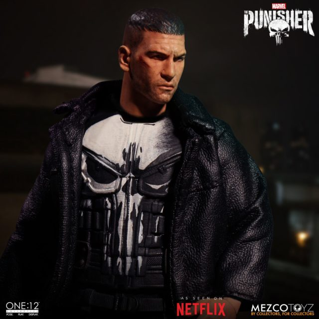 ONE12 Collective Jon Bernthal Portrait Punisher Head Likeness