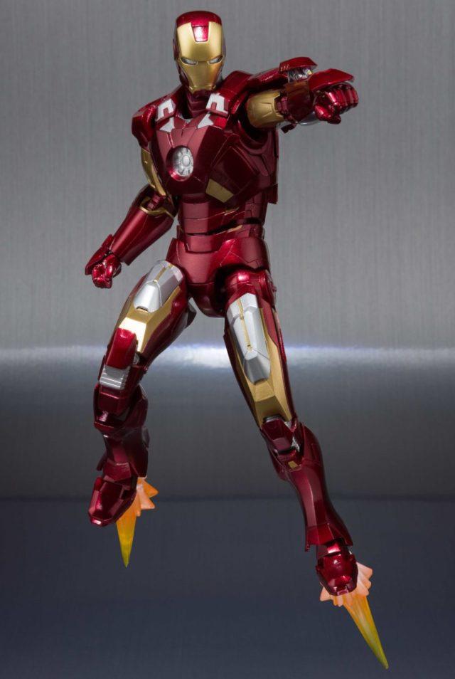SH Figuarts Iron Man Mark 7 6 Inch Figure