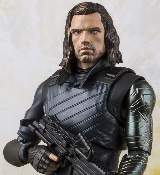 SH Figuarts Winter Soldier Figure Head Sculpt Sebastian Stan