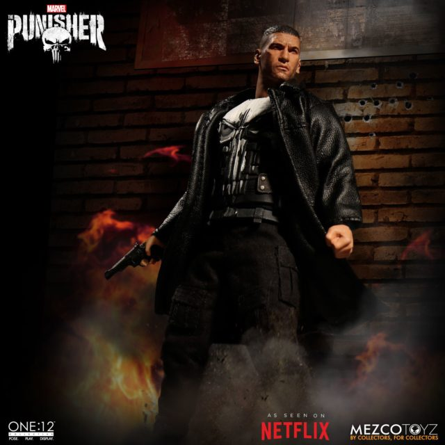 The Punisher Netflix Mezco Toyz ONE 12 Collective Figure