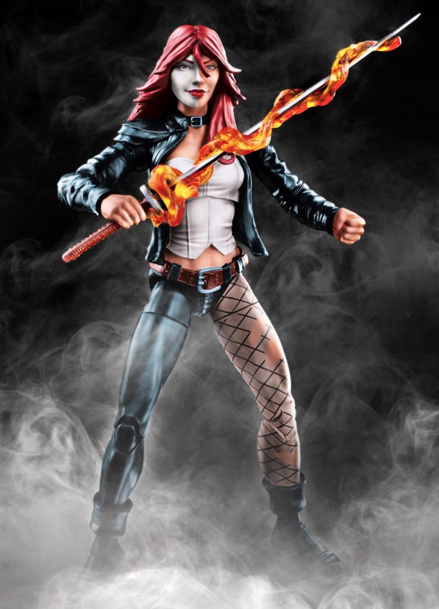 Venom Legends Typhoid Mary Figure