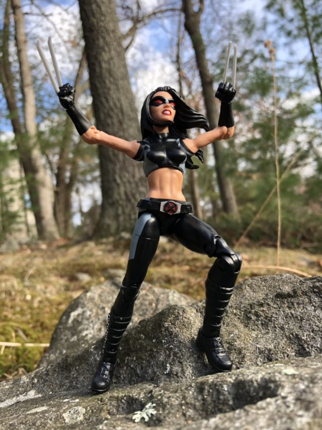 Hasbro X-23 Marvel Legends Deadpool Series Figure Review