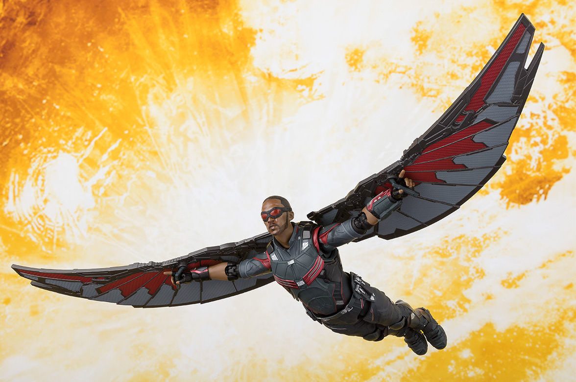 Infinity war sh figuarts falcon hulk figures up for - Faucon avengers ...