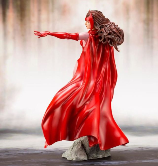 Back of Scarlet Witch Kotobukiya ARTFX+ Statue