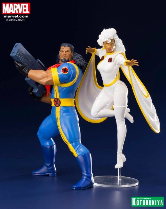 Koto Storm and Bishop X-Men Statues ARTFX+ Figures 1992