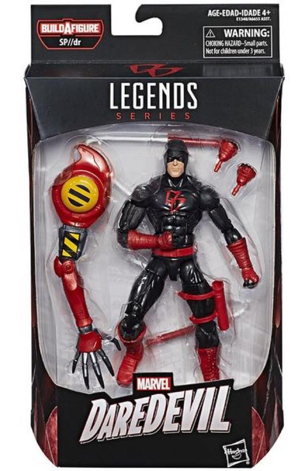 Marvel Legends All-New All-Different Daredevil Black Costume Packaged