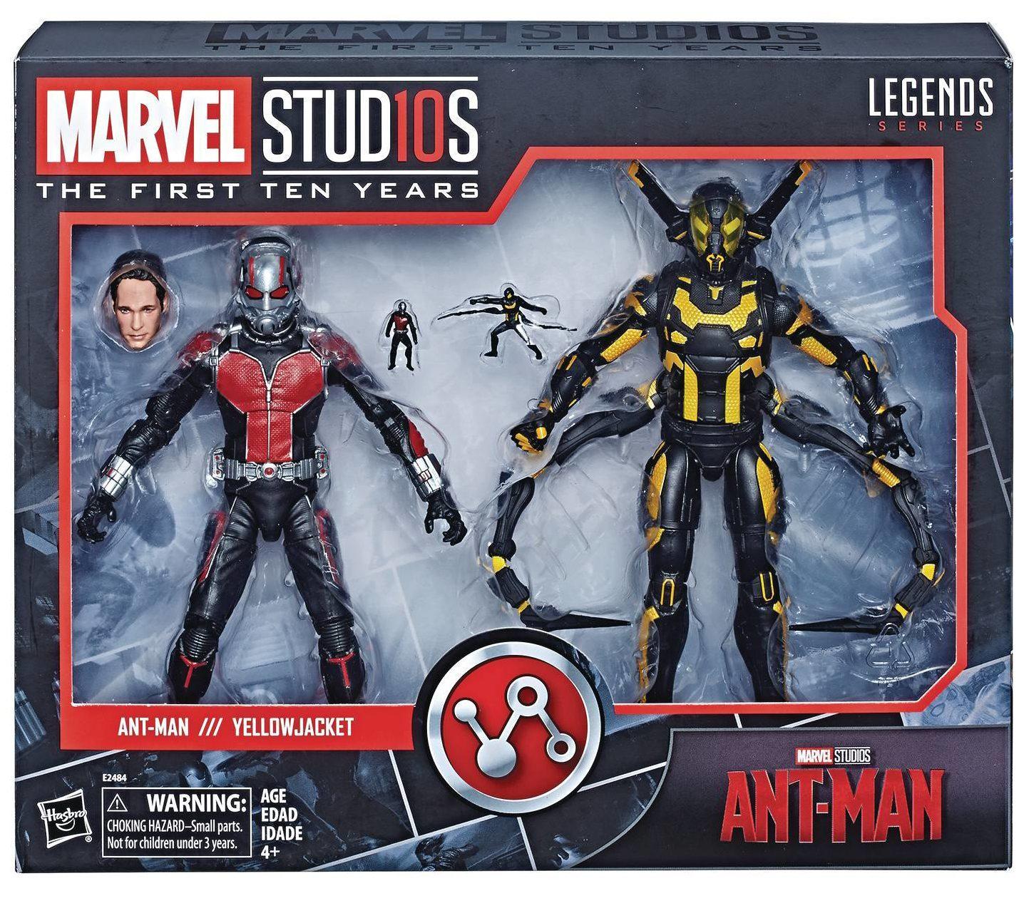 Captain Marvel//GOTG Marvel Legends 10th Anniversary Ronan The Accuser