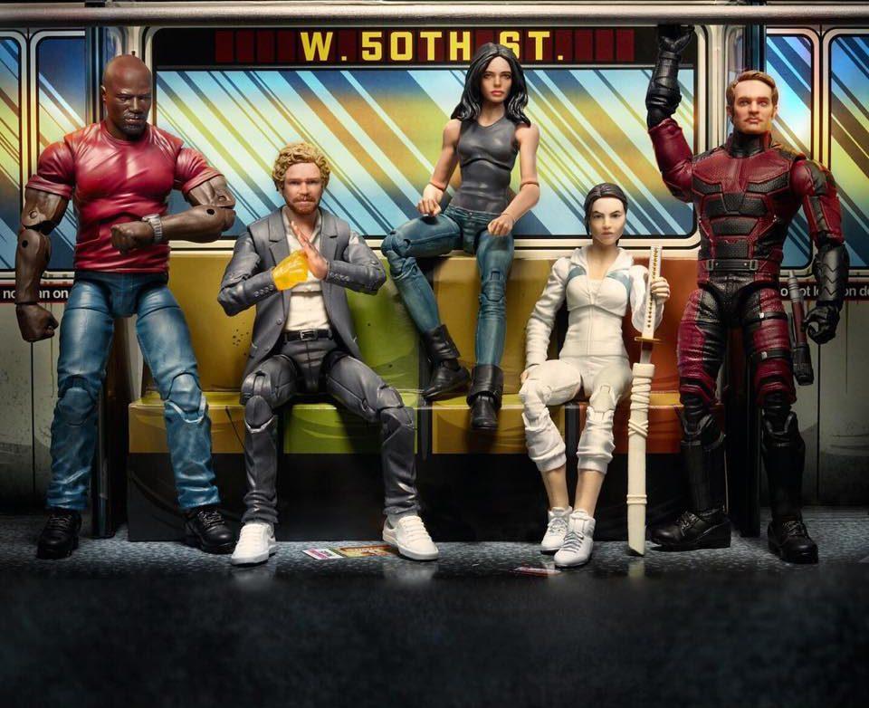 Hasbro SDCC 2018 The Defenders Jessica Jones Marvel Legend Action Figure