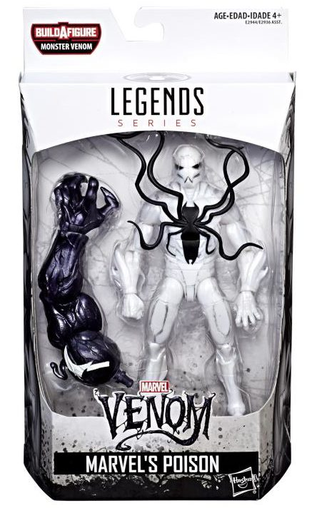 Marvel Legends Poison Figure Packaged Box