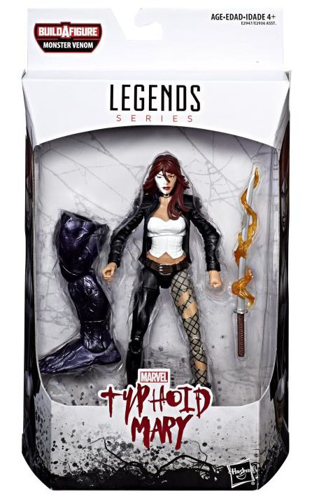 Typhoid Mary Marvel Legends Figure Packaged