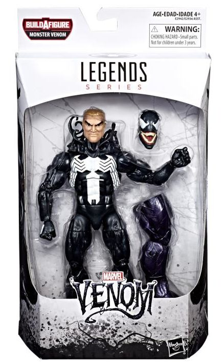 Venom Legends Venom Figure Packaged 2018