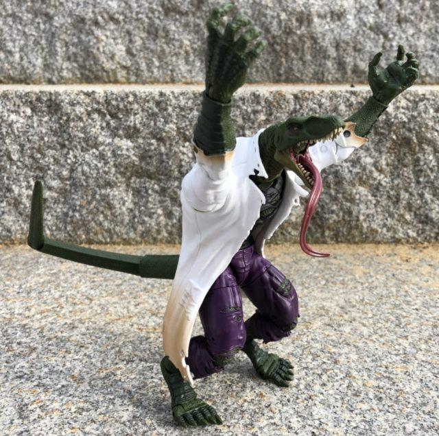Tail Articulation on Lizard Marvel Legends BAF