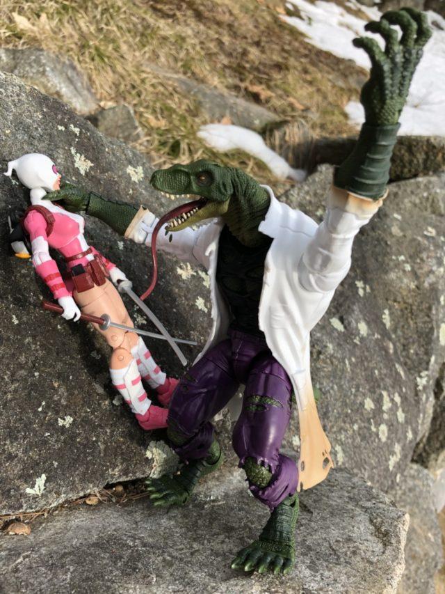 Marvel Legends Lizard Build-A-Figure Review