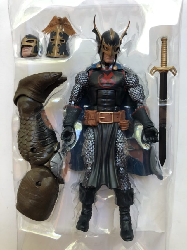 Infinity War Legends Black Knight Figure and Accessories