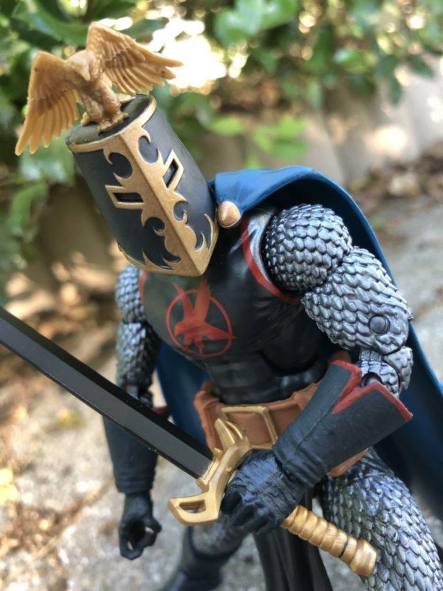 Marvel Legends Original Black Knight Figure Bucket Head Helmet