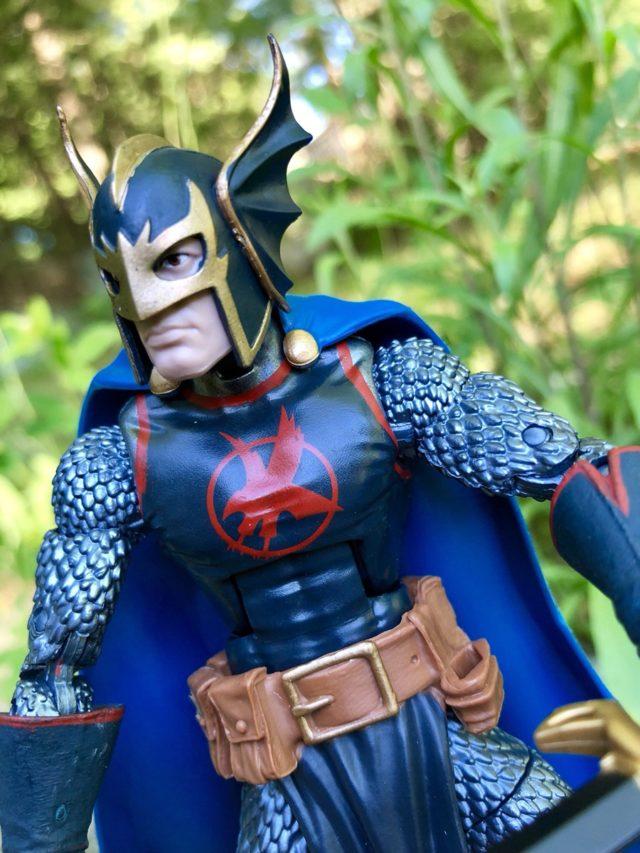 Winged Helmet Black Knight Figure Marvel Legends 2018